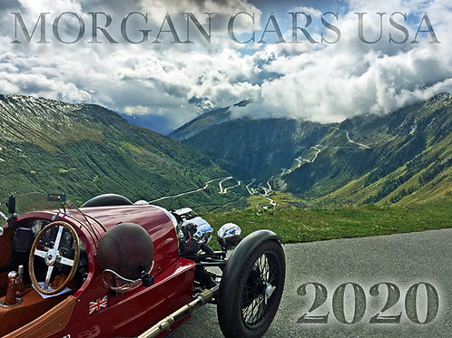 2020 Morgan Calendar
