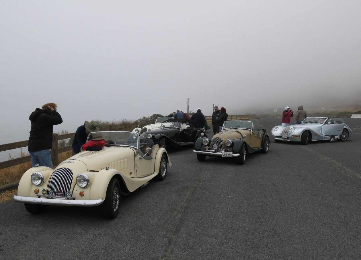 Morgan cars as shot by Dave White