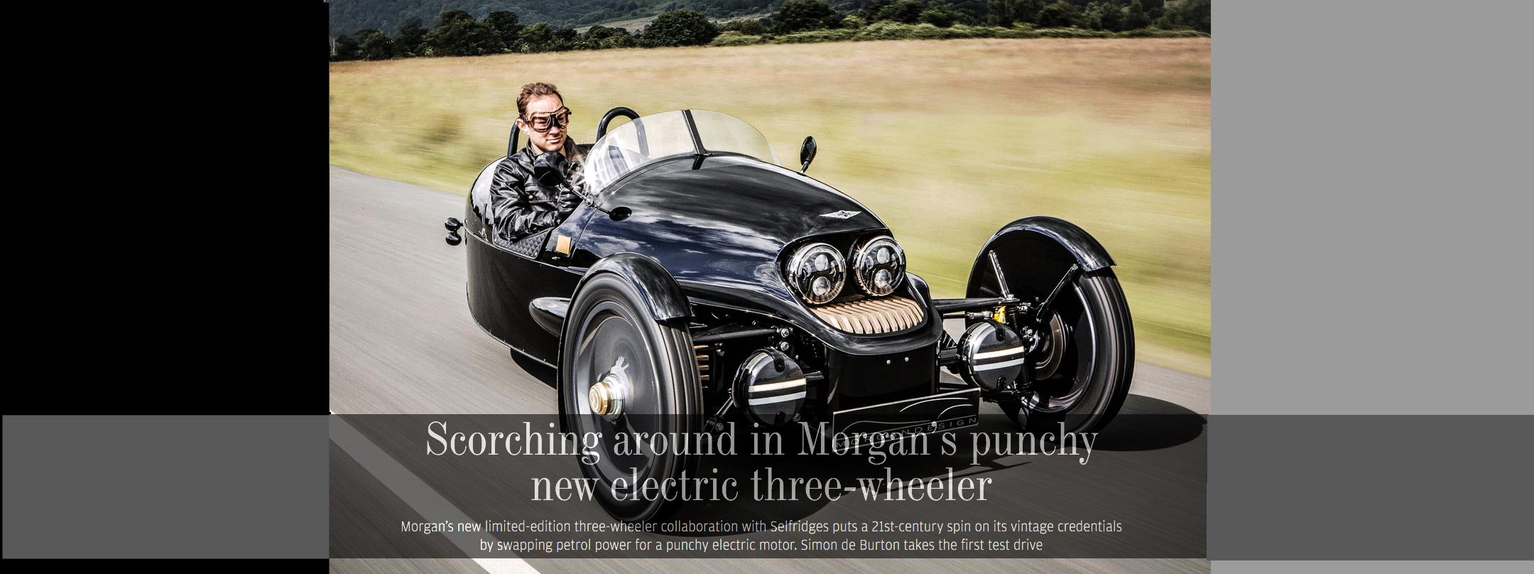 Morgan EV3 Review