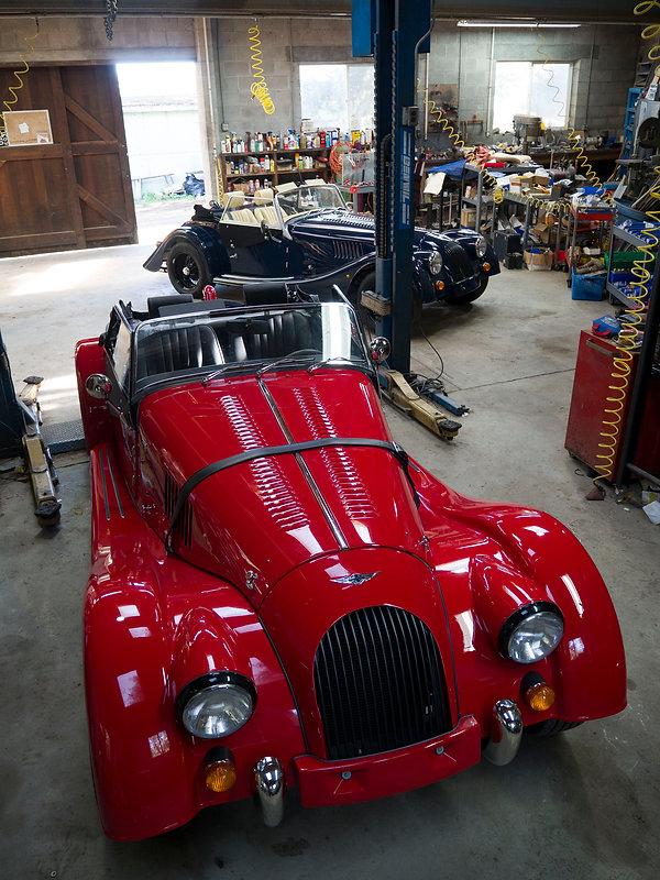 New Morgan cars