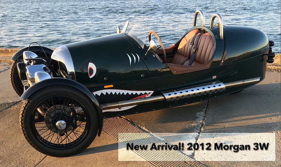 Morgan Cars USA. New and Used Morgan Cars for Sale from Isis Imports