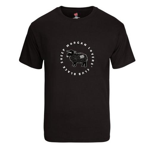 Black Sheep Morgan Lovers' Club cotton T shirt