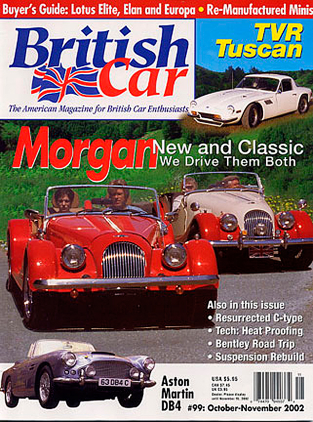 Cover of British Car magazine