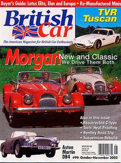 Cover of British Car magazine
