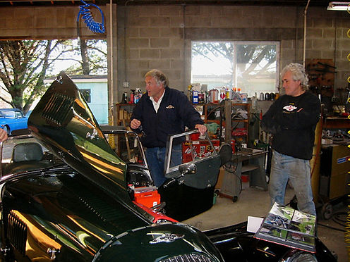 Morgan Corvette with Knut Hallan