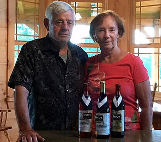 Tom & Jane Demaree, owners The Ridge Winery