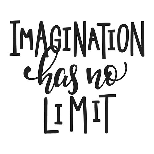 Imagination has no limit