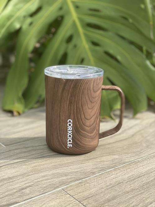 MUG - 16OZ Walnut wood