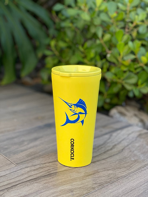 TUMBLER - 24OZ NEON LIGHTS NEON YELLOW