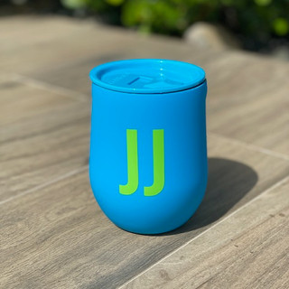 STEMLESS - 12OZ NEON LIGHTS BLUE