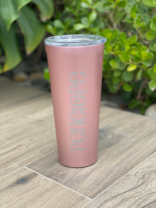 TUMBLER - 24OZ ROSE GOLD
