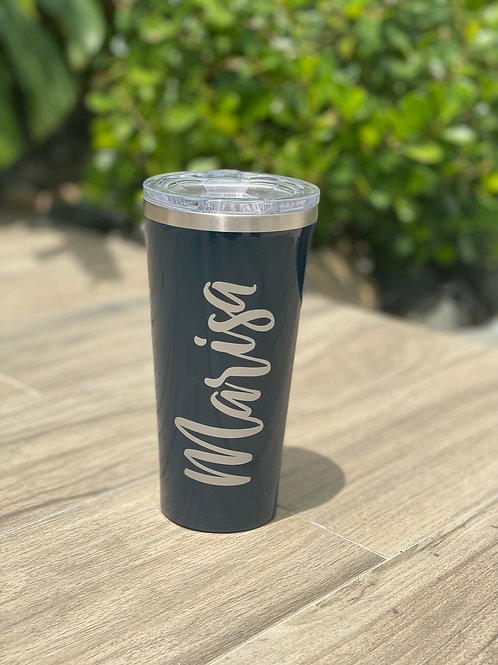 TUMBLER - 16OZ GLOSS NAVY
