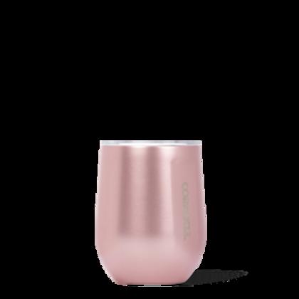 STEMLESS - 12OZ ROSE METALLIC