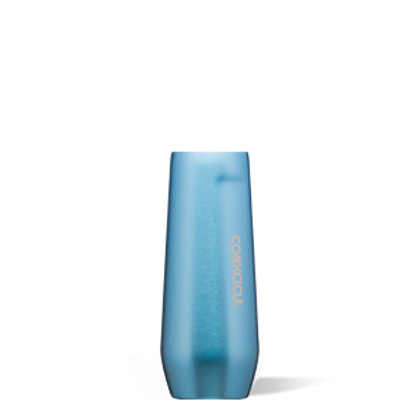 STEMLESS FLUTE - 7 OZ MOONSTONE METALLIC
