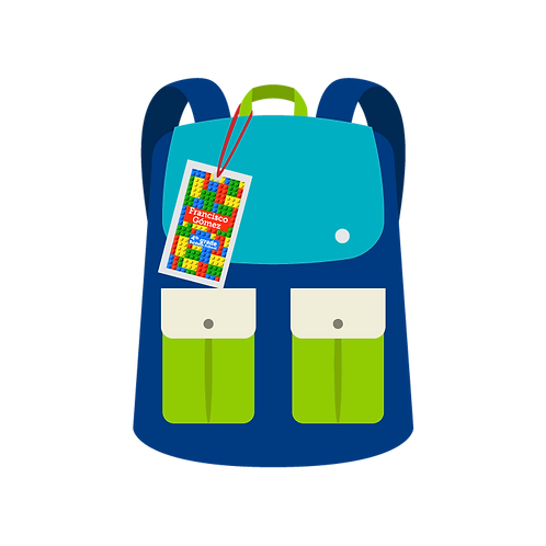 Plastified Luggage Tag