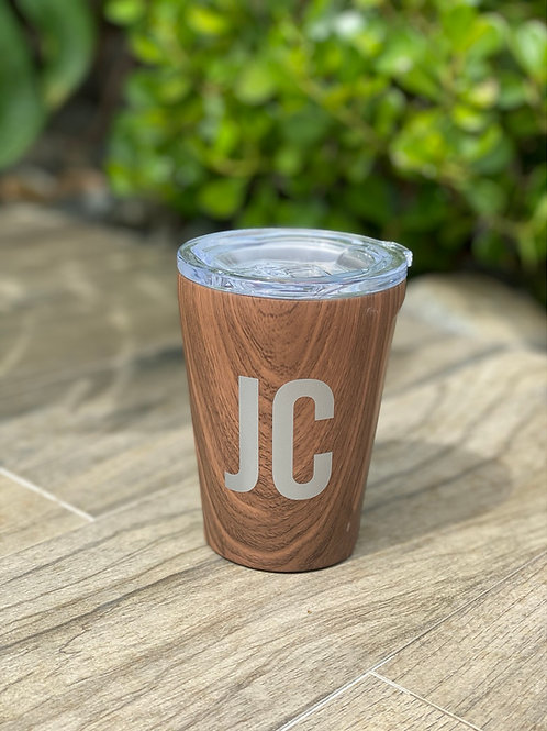 TUMBLER - 12OZ WALNUT WOOD