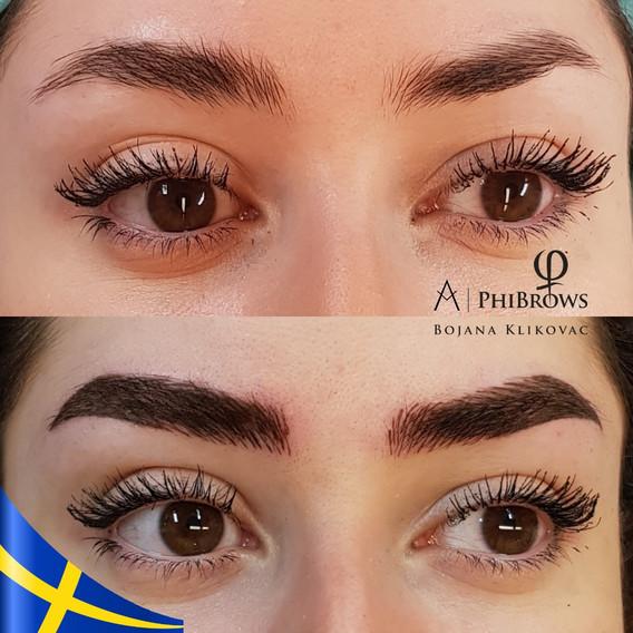 Eyebrows Microblading By Bojana Klikovac