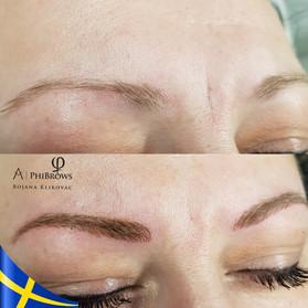 Eyebrow Microblading Phibrows by Bojana