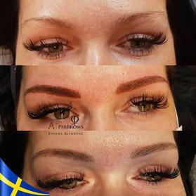 phibrows microblading eyebrows kosmetisk
