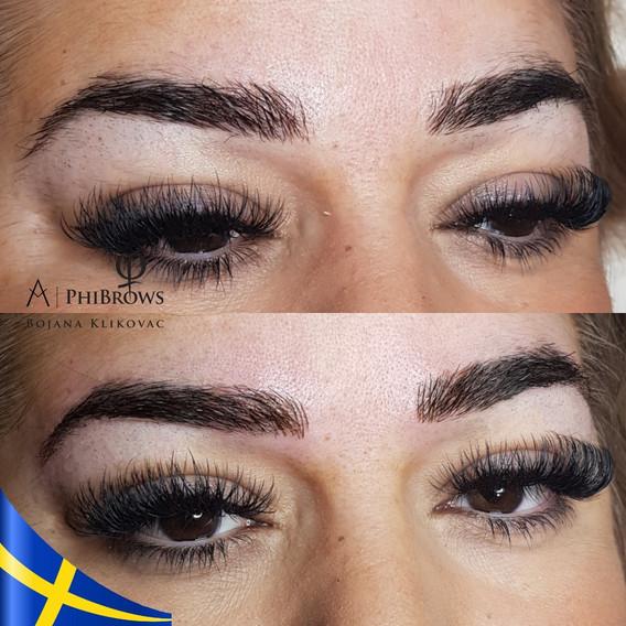 PhiBrows Microblading eyebrows by Bojana