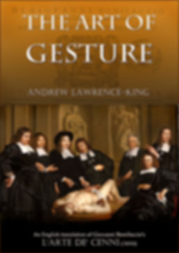 The Art of Gesture edited by Andrew Lawrence-King