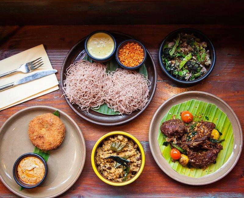 Sri Lankan food by Hoppers London in Soho