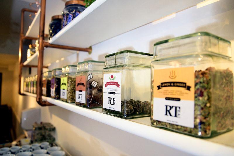 RTea Co.'s selection of herbal loose leaf tea