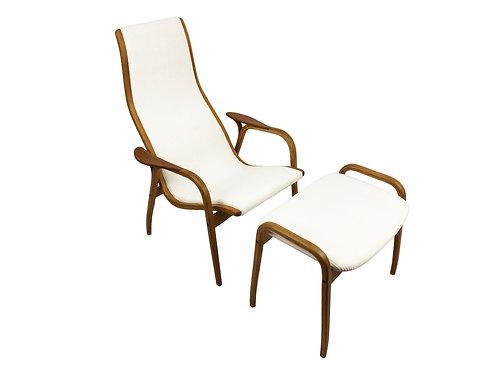 Vintage 'Lamino' lounge chair by Yngve Ekström