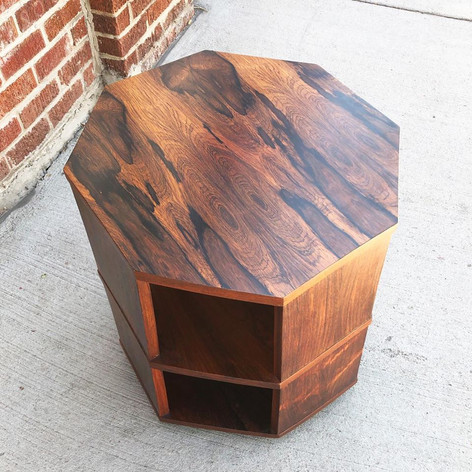 Rosewood Side Table by Harvey Probber