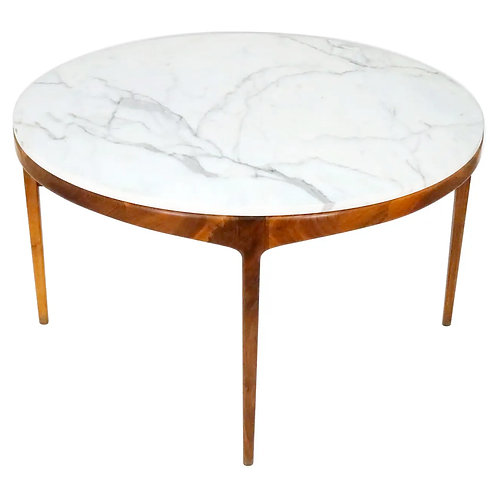 Marble Top Dining or Game Table, Lane 'Rhythm' Series, 1960s