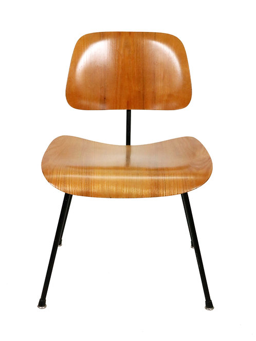 Early DCM Chair by Charles and Ray Eames for Herman Miller