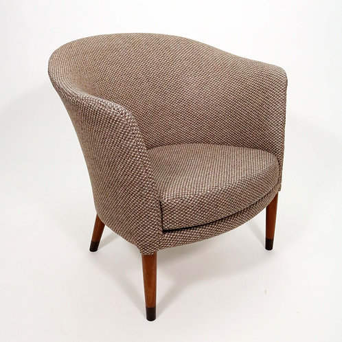 Mid-Century Swedish Chair in the Manner of Carl Malmsten