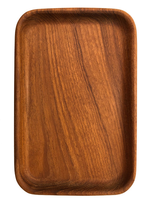 Small Tray in Siamese Teak by Kay Bojesen
