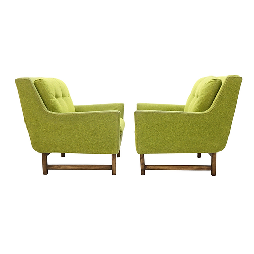 Pair of Vista Lounge Chairs attributed to Dan Johnson for Selig