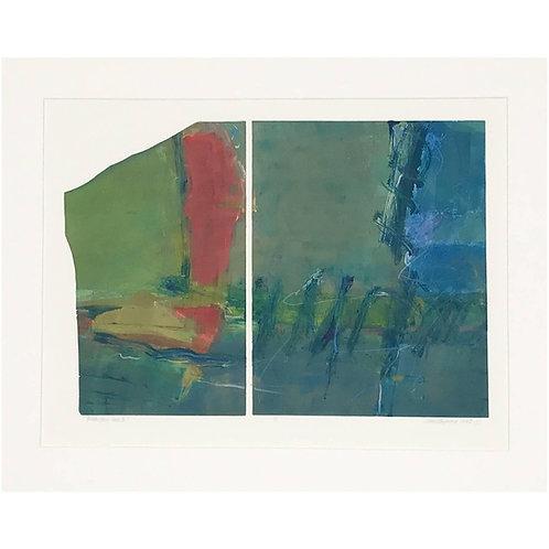 "Anne Raymond ""Mountain Lake I"" Print"