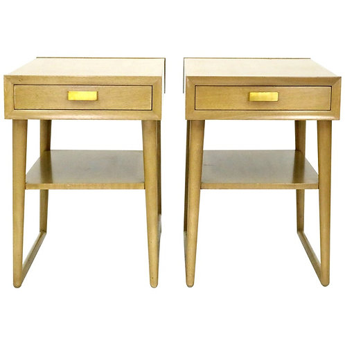 Mid-Century Mahogany End Tables or Night Stands by Imperial Furniture