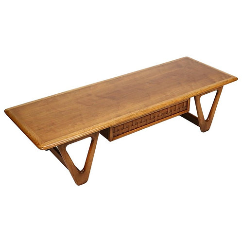 """Perception"" coffee table by Warren Church for Lane"