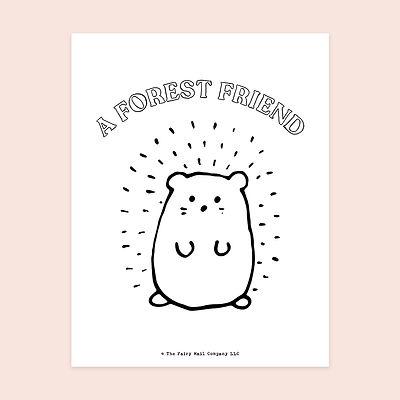A Forest Friend (Mouse) MU.jpg