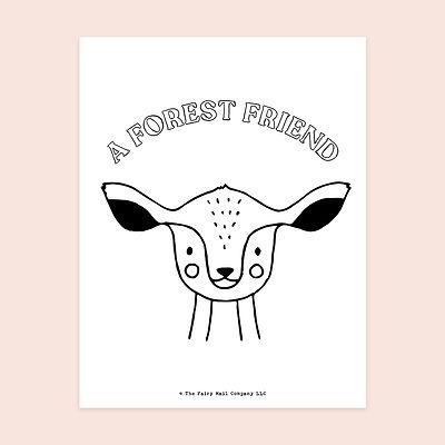A Forest Friend (Deer) MU.jpg