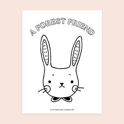 A Forest Friend (Rabbit) MU.jpg