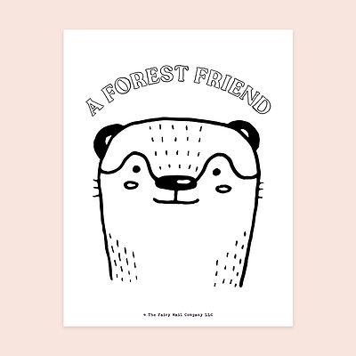 A Forest Friend (Otter) MU.jpg