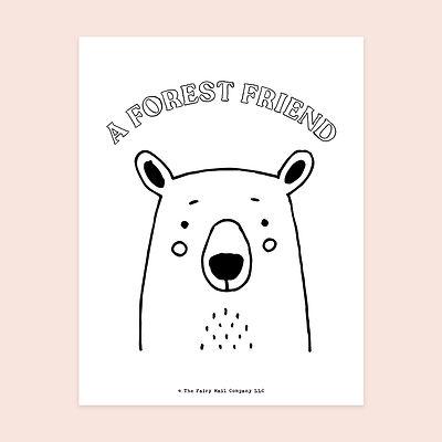 A Forest Friend (Bear) MU.jpg
