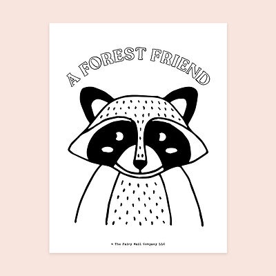A Forest Friend (Raccoon) MU.jpg