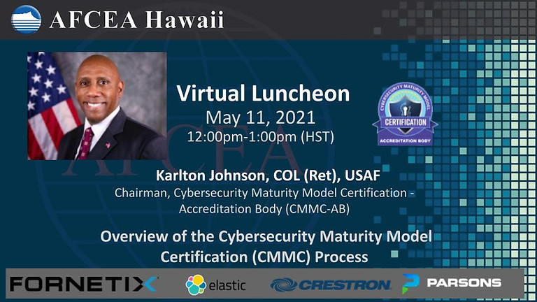 Overview of the Cybersecurity Maturity Model Certification (CMMC) Process