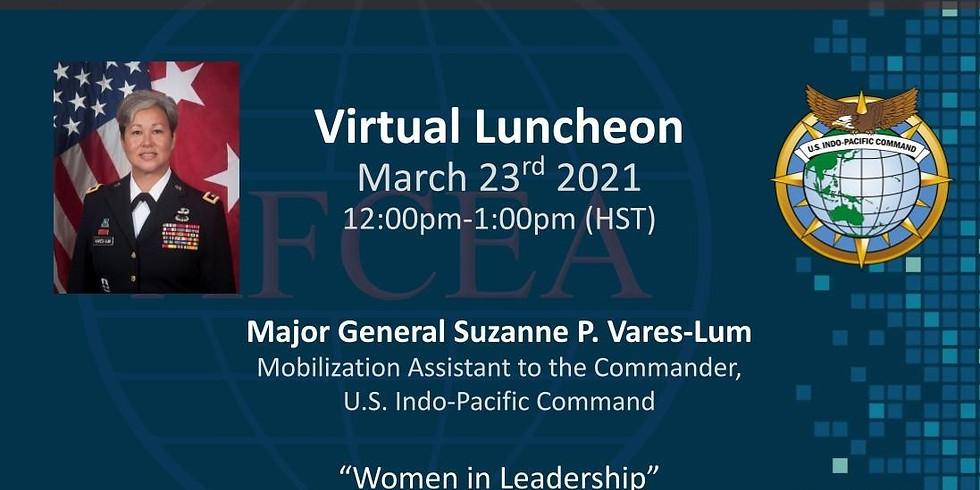 March 2021 Virtual Luncheon