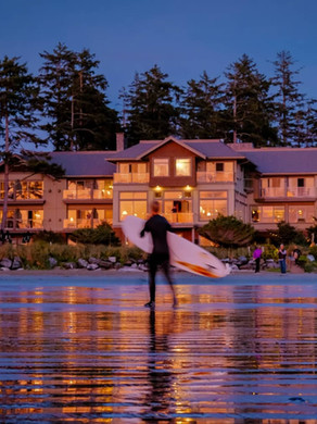 Long beach lodge a beautiful spot on Vancouver Island right on the beach in the rainforest