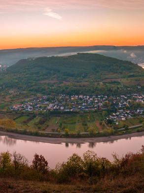 Weekend getaway Middle Rhine Valley Germany Boppard