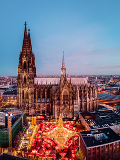A visit to the Christmas markets in Cologne