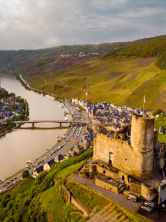 Weekend getaway on the Moselle river Germany