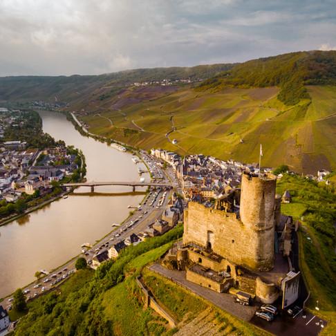 Weekend getaway on the Moselle river Germany